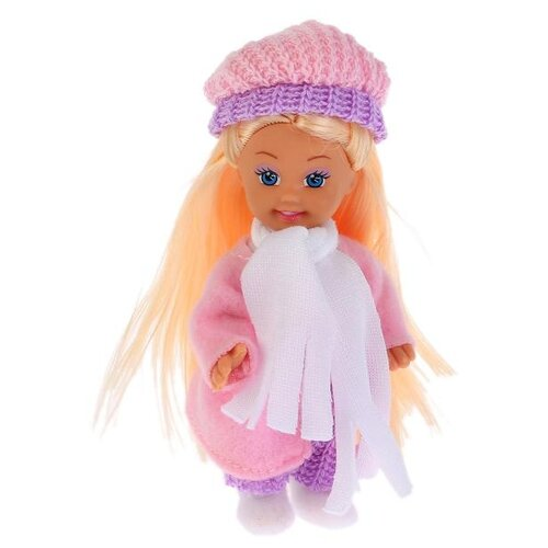 Купить Кукла Карапуз Hello Kitty Моя подружка Машенька в зимней одежде, 12 см, MARY012X-HK, Куклы и пупсы