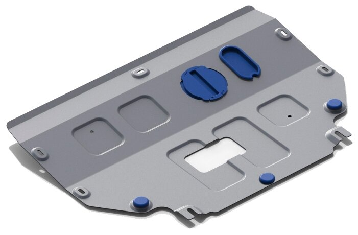 Защита картера двигателя и коробки передач RIVAL 333.2840.1 для Kia