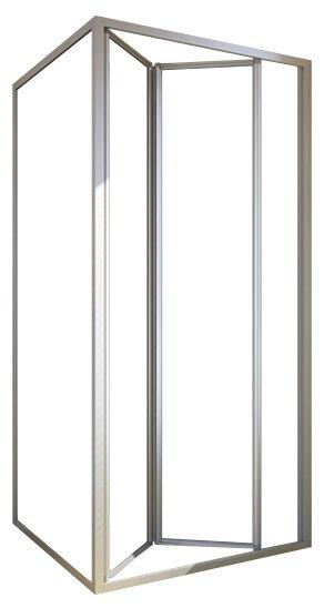 Душевой уголок GuteWetter Practic Square GK-404 L 110см*110см