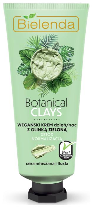 Bielenda Botanical Clays Vegan Face Cream with
