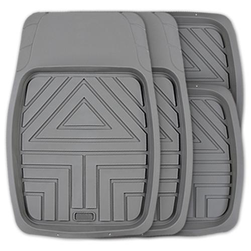 Комплект ковриков AUTOPROFI TER-110 4 шт. серый