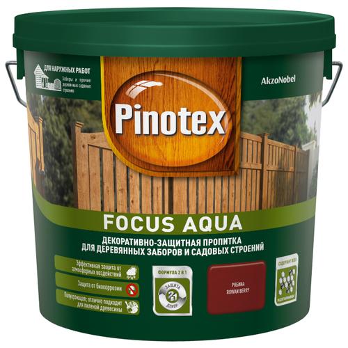 Биоцидная пропитка Pinotex Focus Aqua рябина 5 л