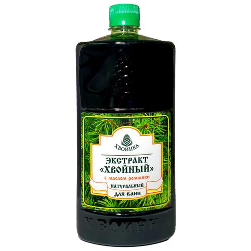 Хвоинка Экстракт Хвойный с маслом ромашки, 1 л