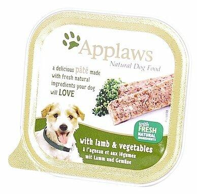 Корм для собак Applaws ягненок с овощами 7шт. х 150г