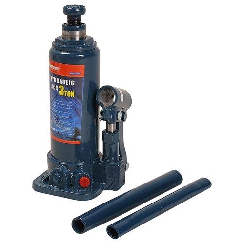 Домкрат бутылочный гидравлический MegaPower M-90304 (3 т) синий домкрат бутылочный гидравлический megapower m 90504s 5 т синий