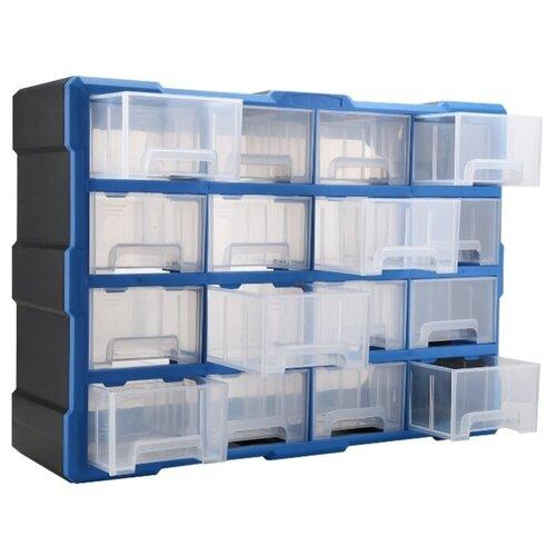 Ящик DEKO DKTB6 52x16x37.5 см черный/синий deko