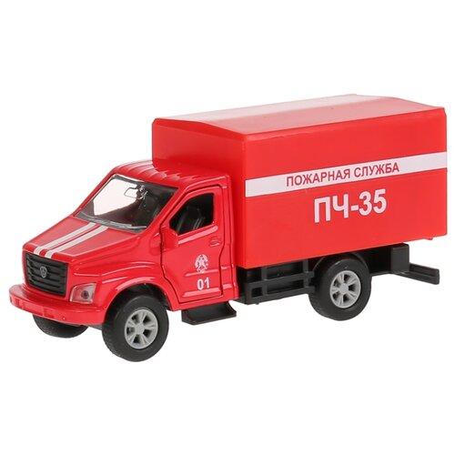 Купить Фургон ТЕХНОПАРК Газон Next (SB-18-17-F-WB) 1:43 14.5 см красный, Машинки и техника