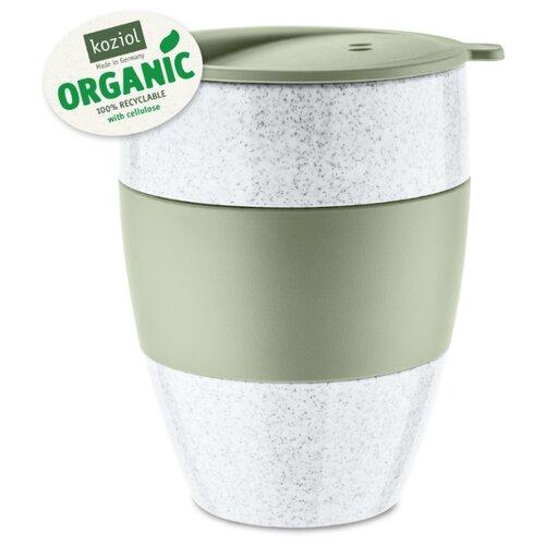 Термокружка Koziol AROMA TO GO 2.0 Organic, 400 мл, зелёная