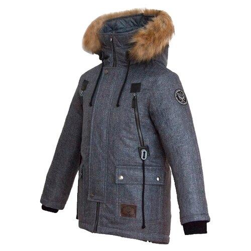 Купить Парка Talvi 83723 размер 140/68, темно-серый, Куртки и пуховики