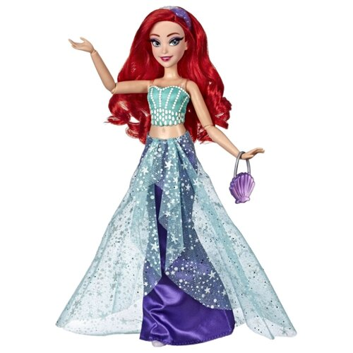 цена Кукла Hasbro Disney Princess Модная Ариэль, E83975X0 онлайн в 2017 году