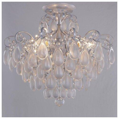 Фото - Потолочная люстра Crystal Lux Sevilia PL4 Silver подвесная люстра crystal lux sevilia sp9 silver