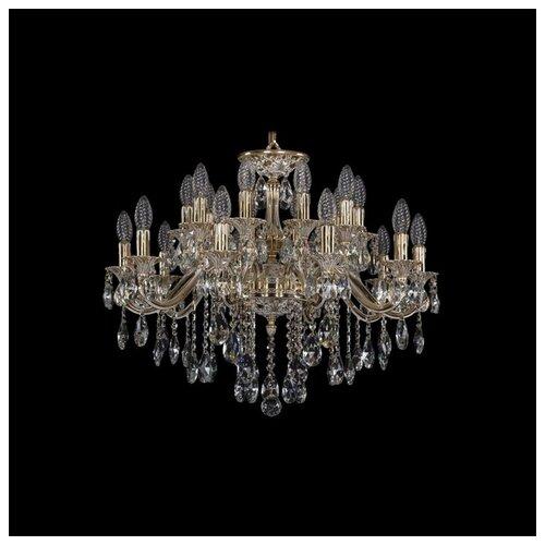 Люстра Bohemia Ivele Crystal 1703 1703/20/225/B/GW, E14, 800 Вт бра bohemia ivele crystal 1610 1610 3 gw