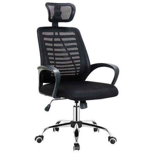 Кресло для руководителя Alsav кресла AL 777, обивка: текстиль, цвет: ткань черная/сетка черная