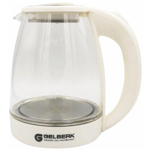 Чайник Gelberk GL-407, white