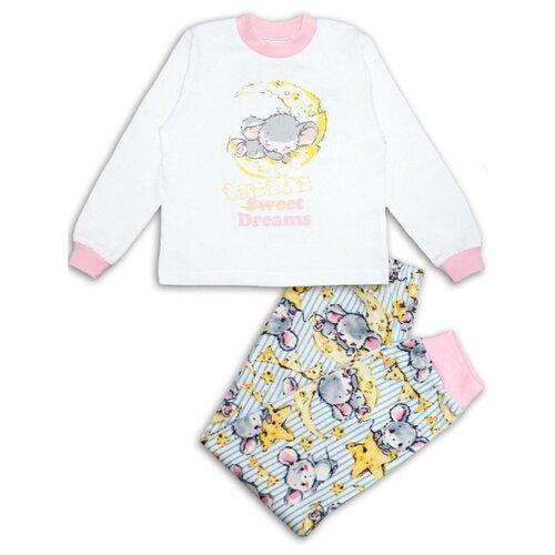 Пижама Веселый Малыш размер 104, разноцветный пижама веселый малыш размер 104 розовый