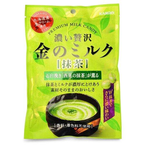 Карамель Kanro молочная с зеленым чаем 70 г