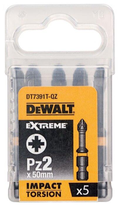 Набор бит DeWALT DT7391T-QZ (5 предм.) — купить по выгодной цене на Яндекс.Маркете
