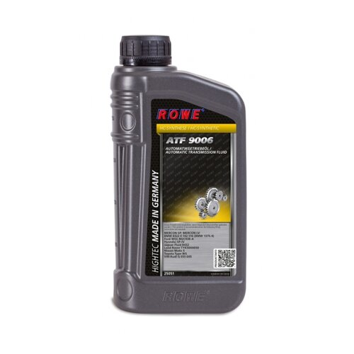 Трансмиссионное масло ROWE ATF 9006 1 л lauren rowe hero