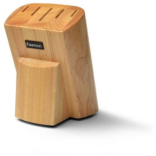 Подставка Fissman для кухонных ножей 13x17х21 см Дерево (2889) подставка для кухонных ножей fissman 10x10x23 см