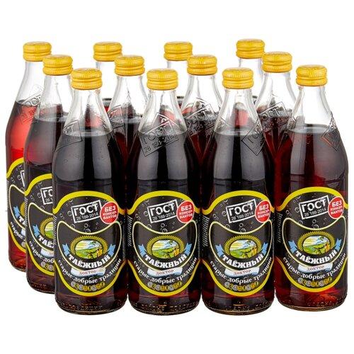 Газированный напиток Старые добрые традиции Таежный доктор, 0.5 л, 12 шт.