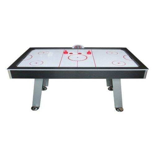 Игровой стол для аэрохоккея DFC Panama ES-AT-8042E1 черный/серый