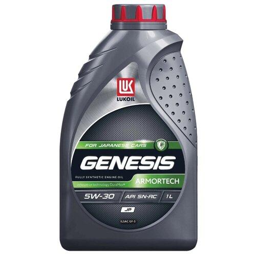 Моторное масло ЛУКОЙЛ Genesis Armortech JP 5W-30 1 л моторное масло лукойл genesis armortech fd 5w 30 4 л