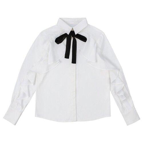 Купить Блузка INFUNT размер 164, белый, Рубашки и блузы