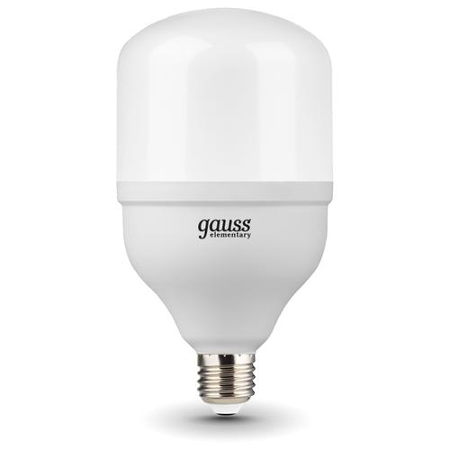 цена на Лампа светодиодная gauss 63233, E27, T100, 32Вт