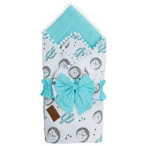 Фото - Одеяло на выписку AmaroBaby Bon Bon Ёжики конверты на выписку amarobaby одеяло на выписку bon bon индейцы