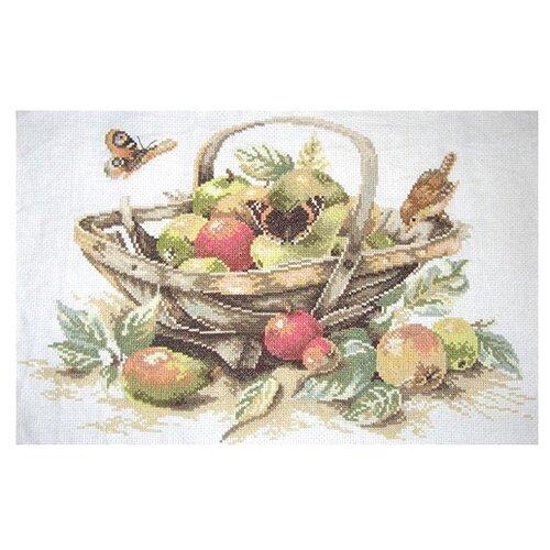 Купить Lanarte Набор для вышивания Летние фрукты 39 x 29 см (0007960-PN), Наборы для вышивания