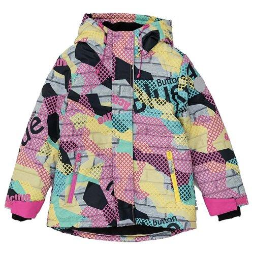 Купить Куртка Button Blue Active 220BBGA41010025 размер 128, мультицвет, Куртки и пуховики