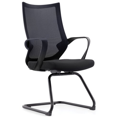Компьютерное кресло Спэйс CF черная краска / черная сетка / черная ткань