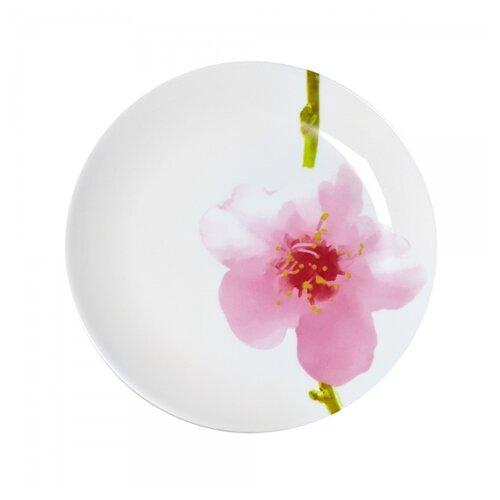 Luminarc Тарелка десертная Water Color 19 см белый/розовый luminarc тарелка десертная lavender 19 см белый