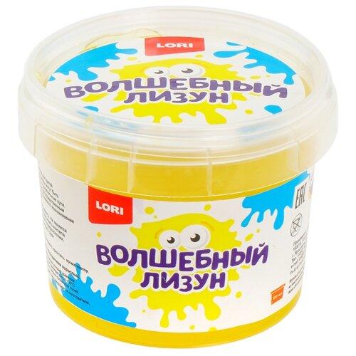 Купить Лизун LORI Волшебный с ароматом банана желтый, Игрушки-антистресс
