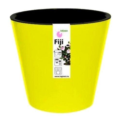 Кашпо InGreen Фиджи ING1557, 16 л, 33х30.5 см желтый