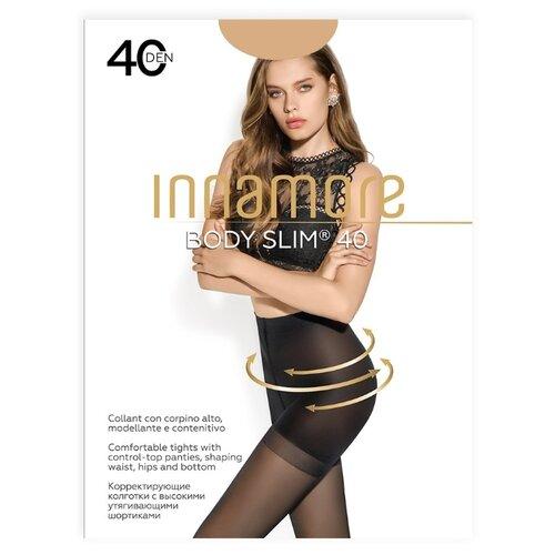 Колготки Innamore Body Slim 40 den, размер 5-XL, miele (бежевый) колготки innamore body slim 40 den размер 5 xl daino бежевый