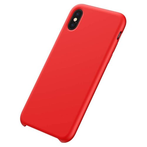 Фото - Чехол-накладка Baseus Case Original LSR для Apple iPhone X/Xs red чехол накладка baseus thin case для apple iphone x black