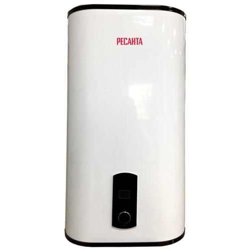 Накопительный электрический водонагреватель РЕСАНТА ВН-80В, белый