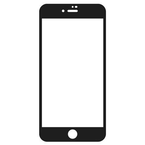 Krutoff / Стекло защитное Full Glue для iPhone 7/8 черное (Айфон 7/8) черное