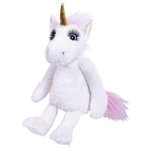 Мягкая игрушка Реснички Единорог белый 20 см ABtoys   фото