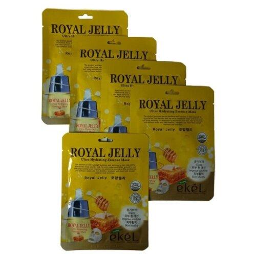 Купить Ekel Увлажняющая маска с маточным молоком 5 шт. Ultra Hydrating Essence Mask Royal Jelly