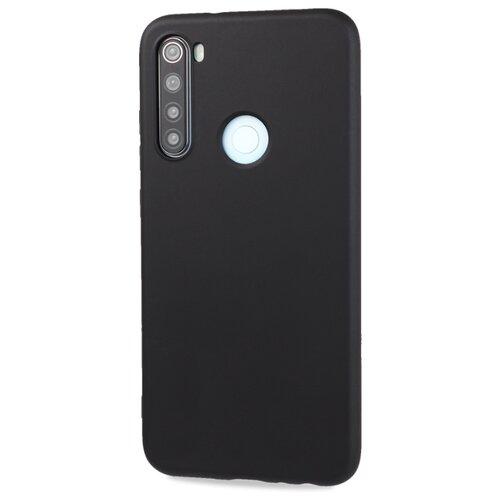 Фото - Матовый силиконовый чехол для Xiaomi RedMi Note 8 с покрытием софт-тач черный защитный чехол pero для xiaomi redmi 5 софт тач черный
