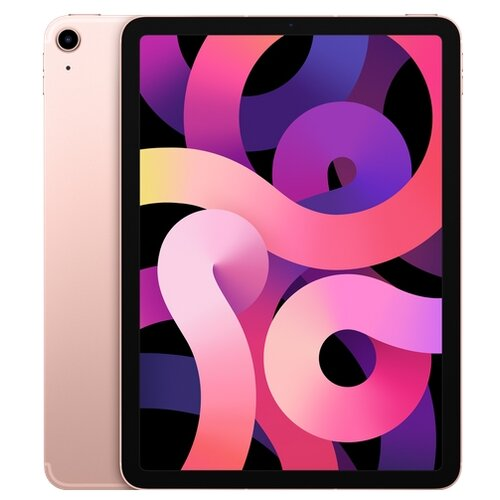 Планшет Apple iPad Air (2020) 64Gb Wi-Fi + Cellular, rose gold планшет apple ipad air 10 9 2020 wi fi 64gb rose gold myfp2ru a