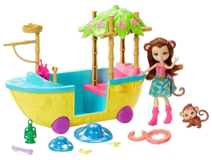 Игровой набор Mattel Enchantimals - Джунгли-лодка GFN58