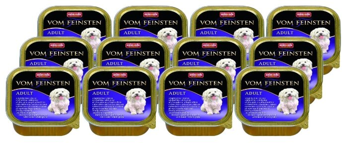Корм для собак Animonda Vom Feinsten ягненок 22шт. х 150г