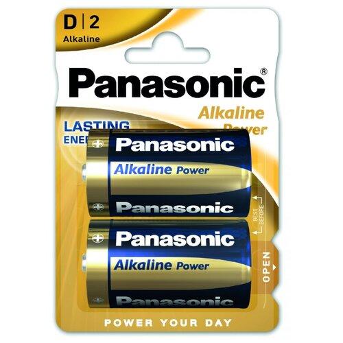 Фото - Батарейка Panasonic Alkaline Power D/LR20 2 шт блистер panasonic аlkaline power aaa lr03 2 шт