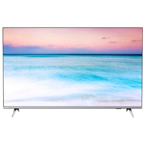 Телевизор Philips 50PUS6654 50 (2019) серебристый металлик телевизор philips 50pus7303 50 2018 темно серебристый