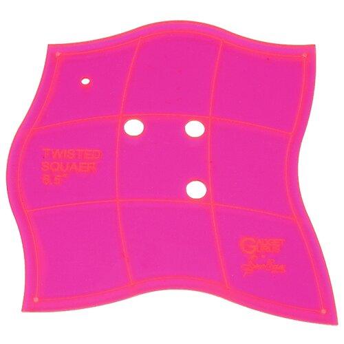 Купить Hemline Лекало для пэчворка Sew Easy Изогнутый квадрат ERGG03, 6.5 розовый, Инструменты и аксессуары