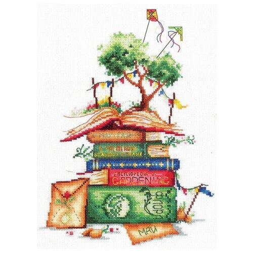 Купить Сделай своими руками Набор для вышивания Дачные истории 16 x 21 см (И-02), Наборы для вышивания