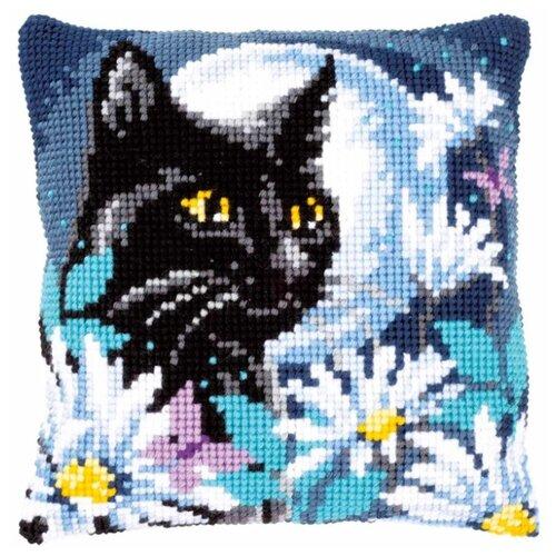Купить Vervaco Набор для вышивания Ночной кот 40 x 40 см (PN-0148218), Наборы для вышивания